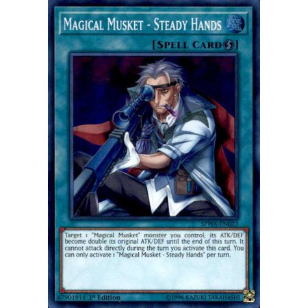 YuGiOh Spirit Warriors Magical Musket - Steady Hands - Toy Muskets