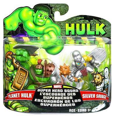Planet Hulk & Silver Savage Action Figure 2-Pack Marvel
