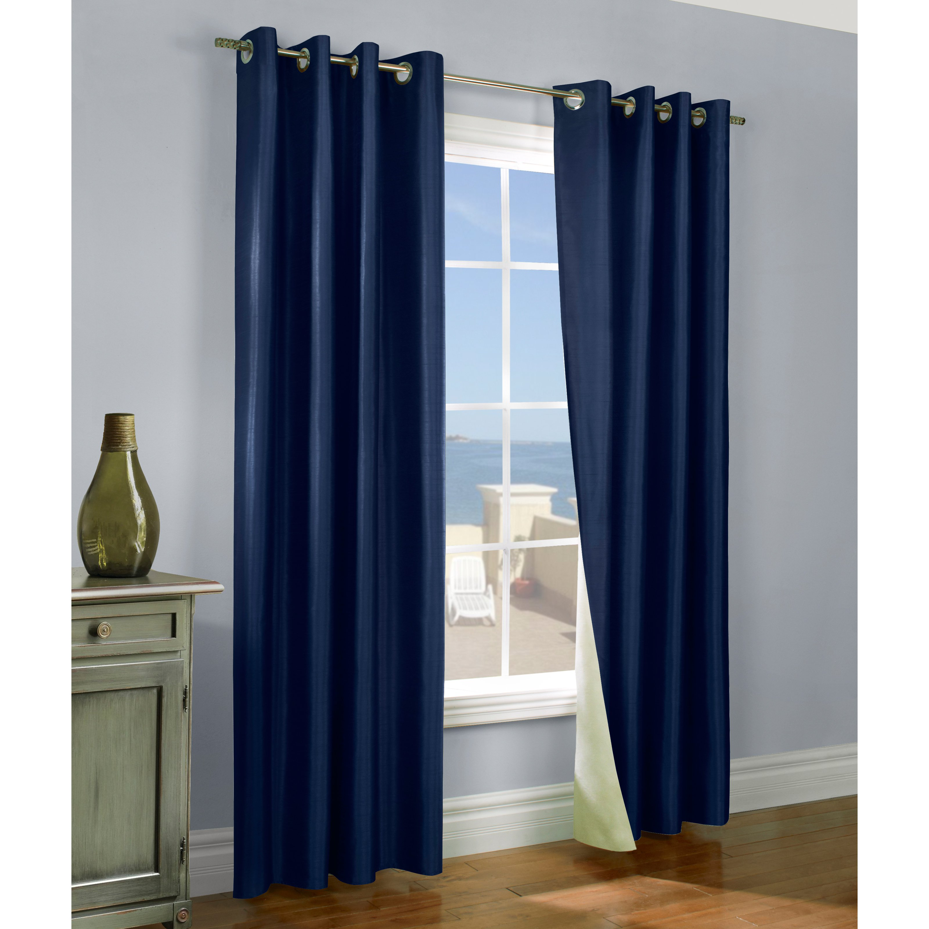 Commonwealth Thermasilk Miller Grommet Curtain Panel