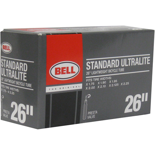 "Bell Sports 26"" Ultralite Presta Valve Bike Inner Tube"