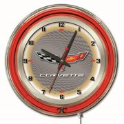 Holland 19 in. Corvette Automative Wall Clock