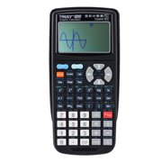 TG204 Graphing Calculator Portable Size School Students Graphics Calculator Scientific Graphing Calculator For Graphics Teaching Black