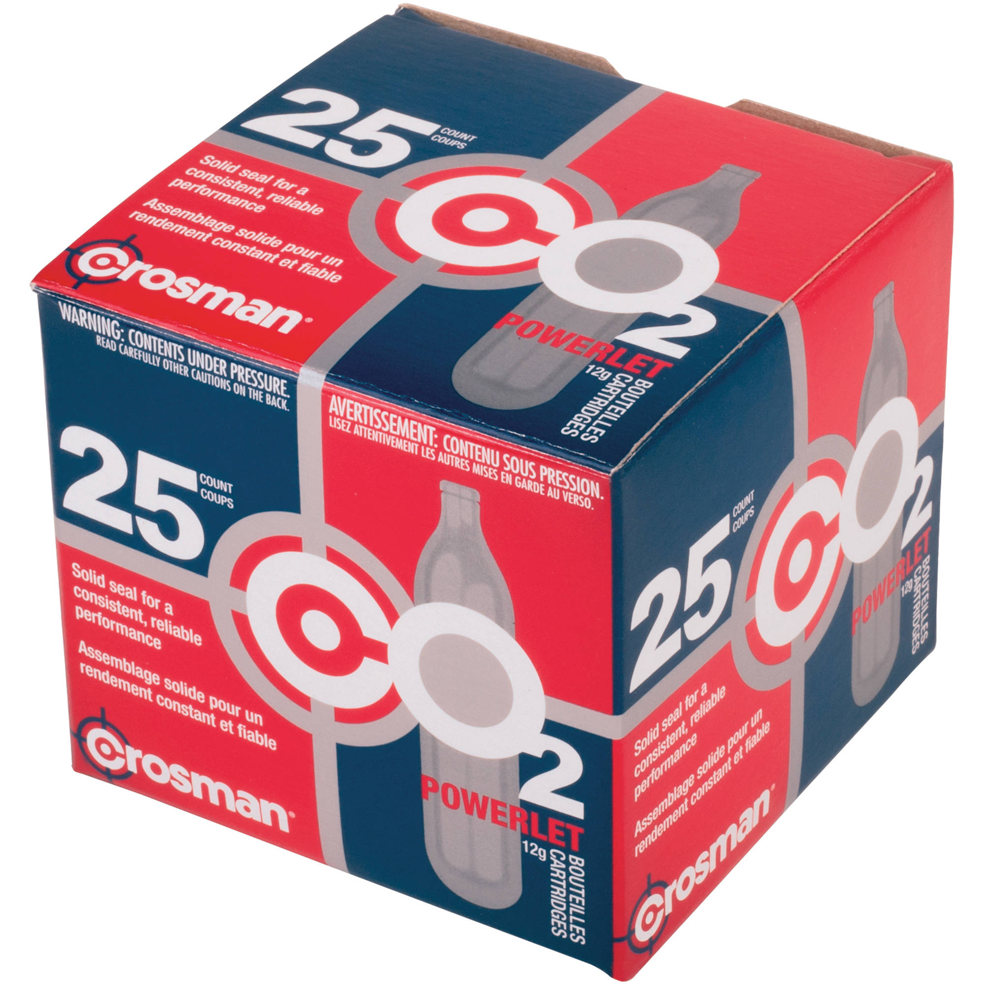 Crosman 12-Gram CO2 Powerlets, 25ct