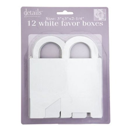 f46fbe22a8ae Wedding Favors - White Wedding Favor Boxes
