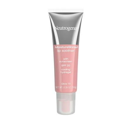Neutrogena Moistureshine Lip Soother Gloss, Spf 20, Glow 70,.35