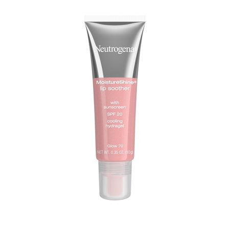 Neutrogena Moistureshine Lip Soother Gloss, Spf 20, Glow 70,.35 Oz. ()