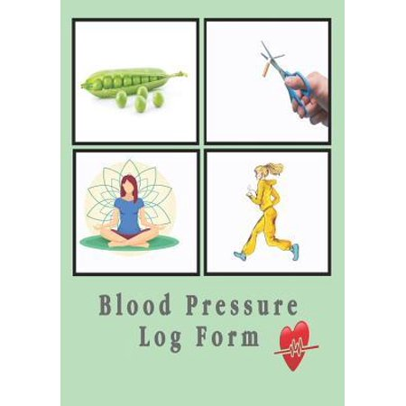 Blood Pressure Log Form : Every day Personal Record and Monitor Tracking Numbers About Heart Beats Diastolic Pressure, Systolic Pressure, Heart Rate Pulse, Weight, Temperature, Notes Spiral Bound For 53 (Flat Rate Tracking Number)