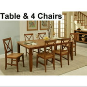 Camden Butterfly Leaf Leg Table Set-Set:4 Chairs