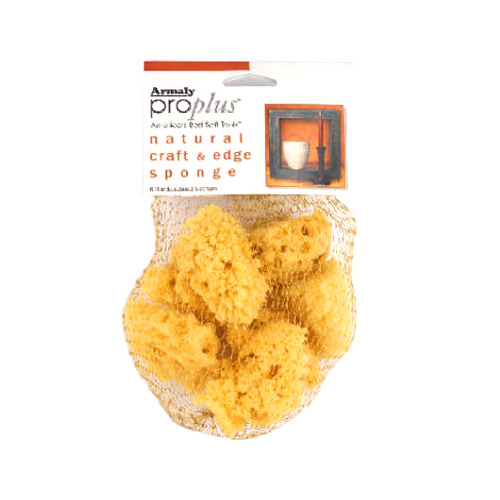 ARMALY BRANDS 15206 6PK Artist Sponge Assorted