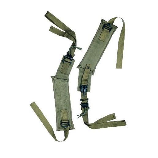Image of 5ive Star Gear 6126000 GI Spec LC-II Alice Pack Shoulder Straps OD Green