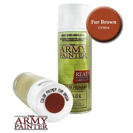 Colour Primer - Fur Brown High Quality The Army Painter APS AMYCP3016 ()