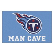 """NFL - Tennessee Titans Man Cave Starter Rug 19""""x30"""""""