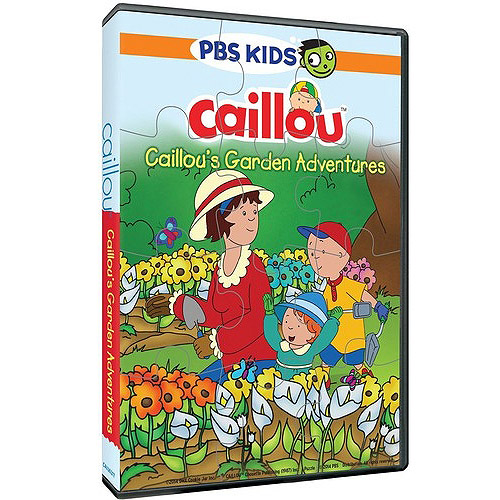 CAILLOU-CALLIOUS GARDEN ADVENTURES (DVD/PUZZLE)