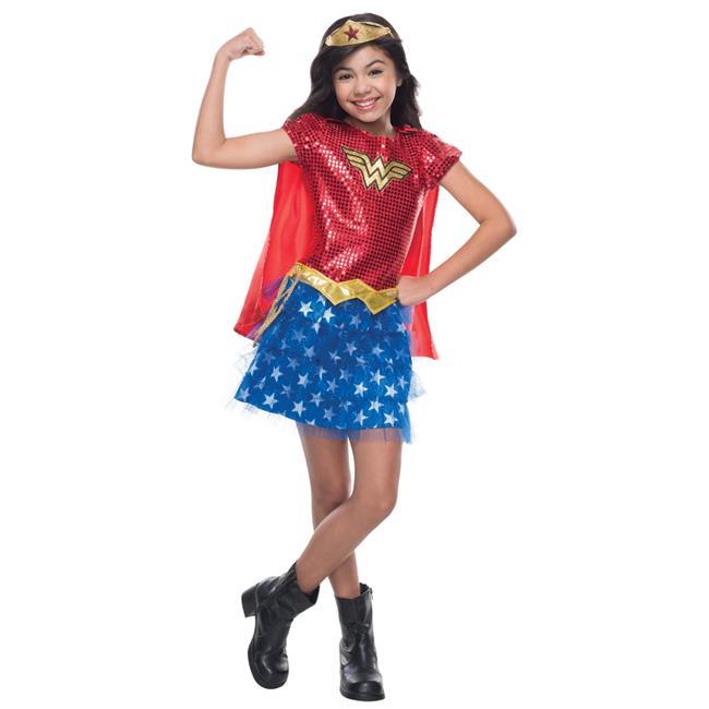 Morris Costume RU610749MD Wonder Woman Tutu Child Costume, Medium