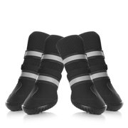 Pet Dog Shoes- Petacc Anti-slip High-top Puppy Boots for Large-