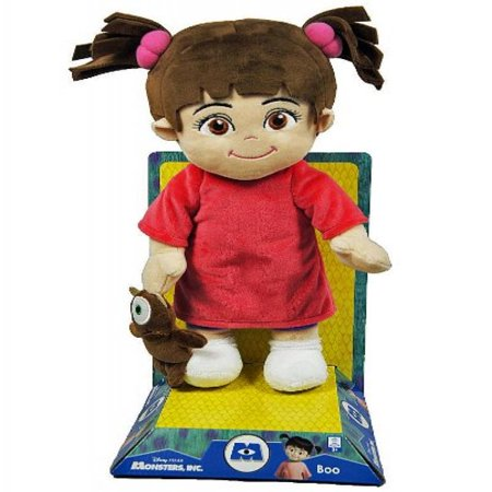 Monsters, Inc. Boo Red Shirt Doll (Monsters Inc Boo Doll)