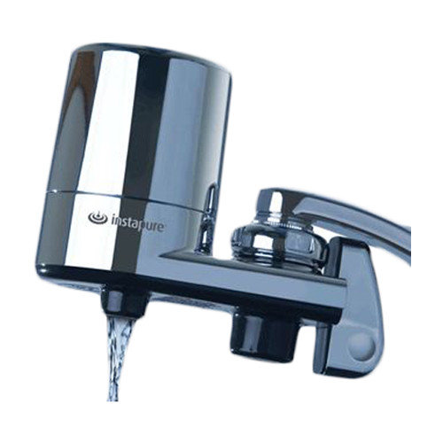 InstaPure F-5C Chrome Faucet Mount Water Filter System