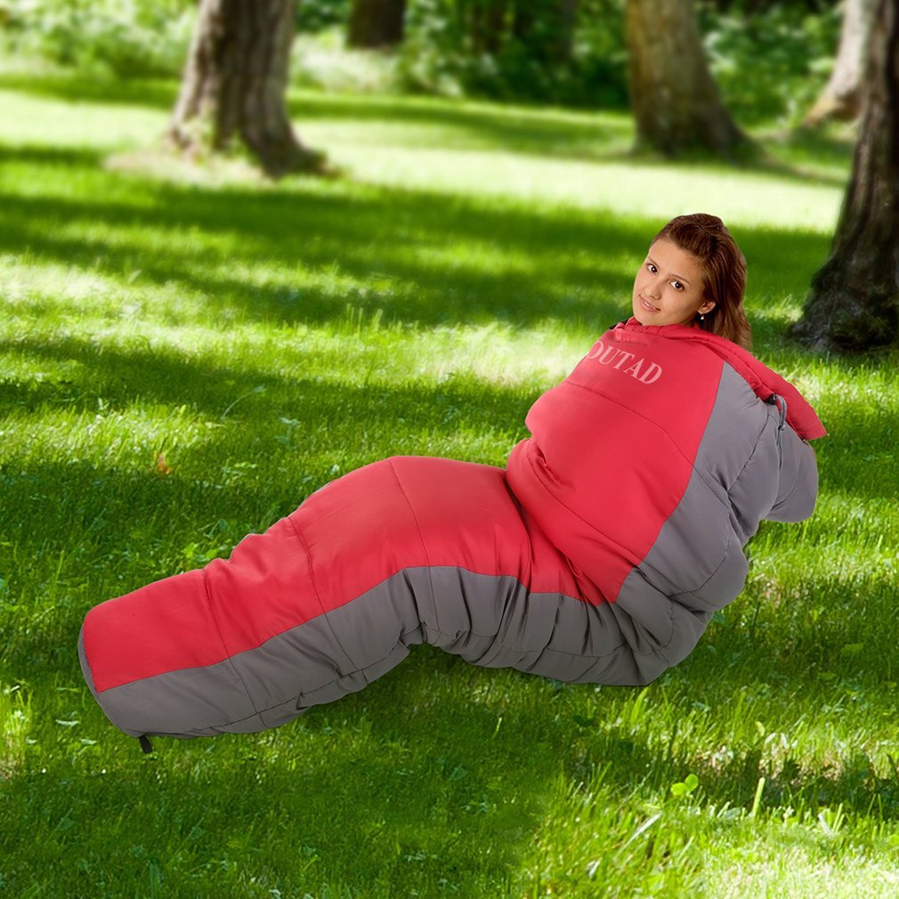 Mummy Sleeping Bag with Compression Sack, It's Portable and Lightweight for 3-4 Season Camping, Hiking, Traveling, Backpacking and Outdoor Activities