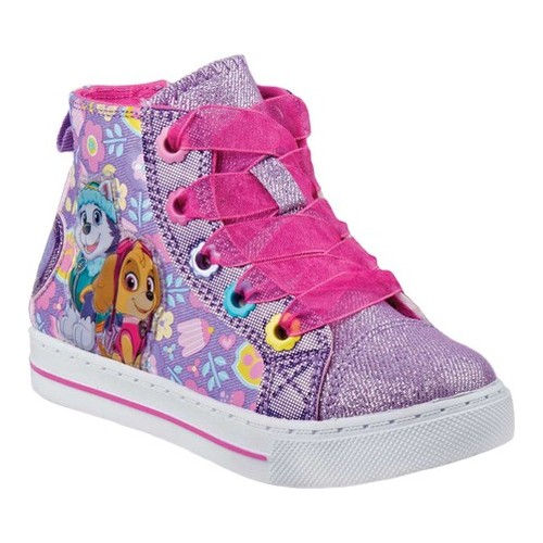 Girls' Josmo O-CH17228 Paw Patrol High Top Canvas Sneaker by Nickelodeon
