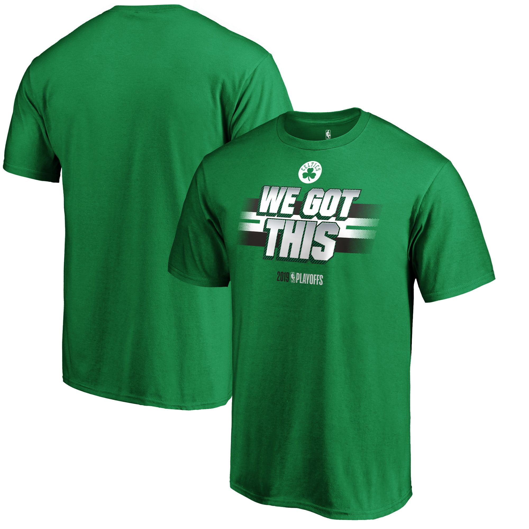 Boston Celtics Fanatics Branded 2019 NBA Playoffs Bound All You Got T-Shirt - Kelly Green