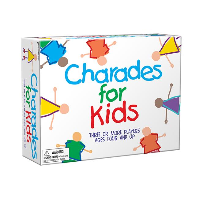Pressman Toys PRE300912 The Best Of Charades For Kids by Pressman Toy Corp