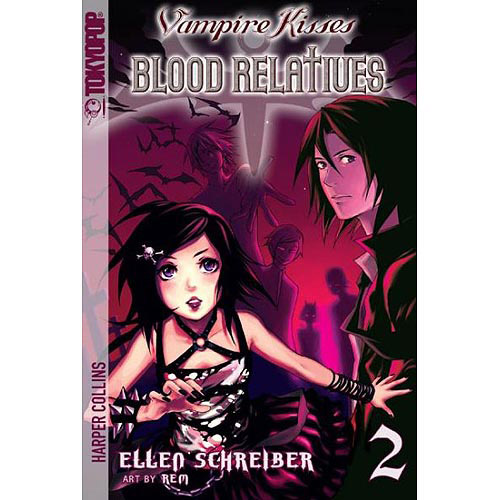 Vampire Kisses Blood Relatives 2