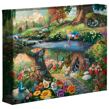 Thomas Kinkade Alice in Wonderland - 8