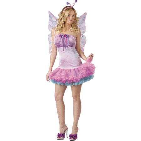 Fluttery Butterfly Adult Halloween Costume
