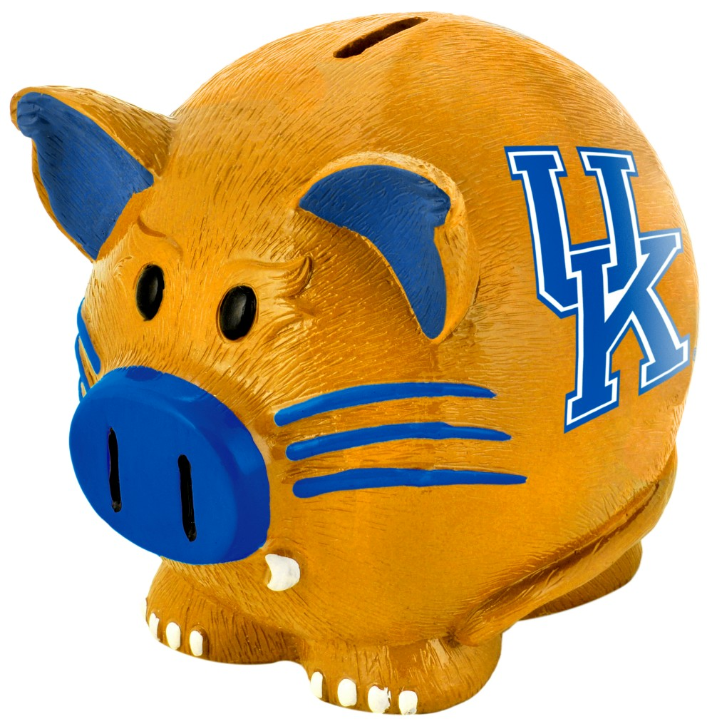 Kentucky Wildcats Piggy Bank Thematic Small by