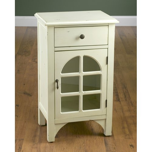 Image of AA Importing 1 Drawer 1 Door Accent Cabinet