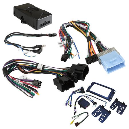 Crux DKGM51 Radio Replacement W/swc Retention For Gm Lan-11 Bit Vehicles [dash Kit Included]