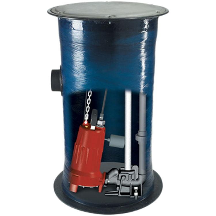 Liberty 2448LSGX Complete Grinder Pump Package