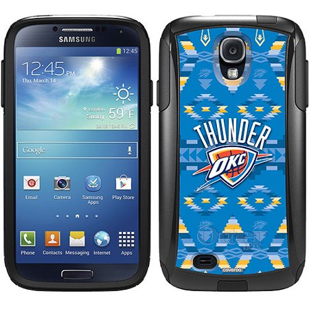 Oklahoma City Thunder Tribal Print Design On Otterbox