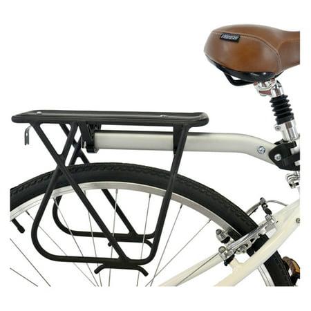 Axiom Flipflop Dlx Rear Bike Rack Black Silver