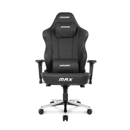 AKRacing Max Gaming Chair, Black