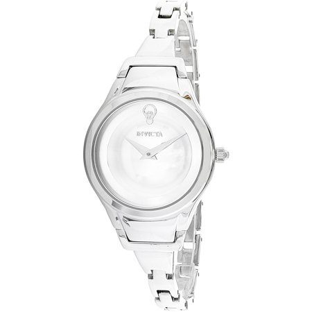 Invicta Womens Gabrielle Union 23271 Silver Stainless Steel Quartz Fashion Watch
