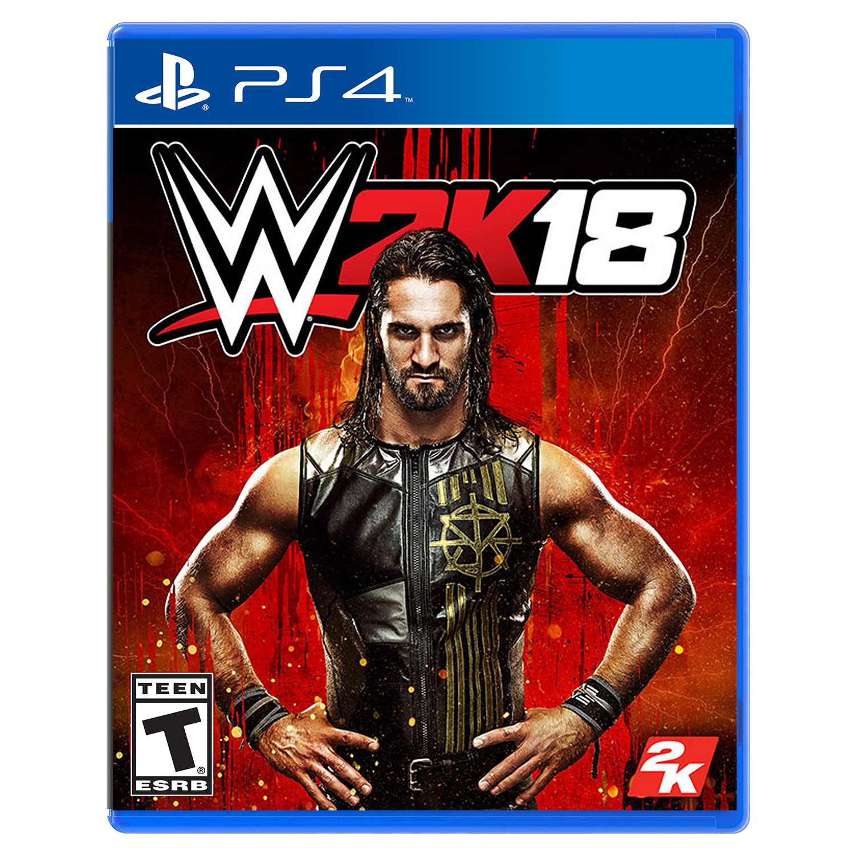 WWE 2K18, 2K, PlayStation 4, REFURBISHED/PREOWNED