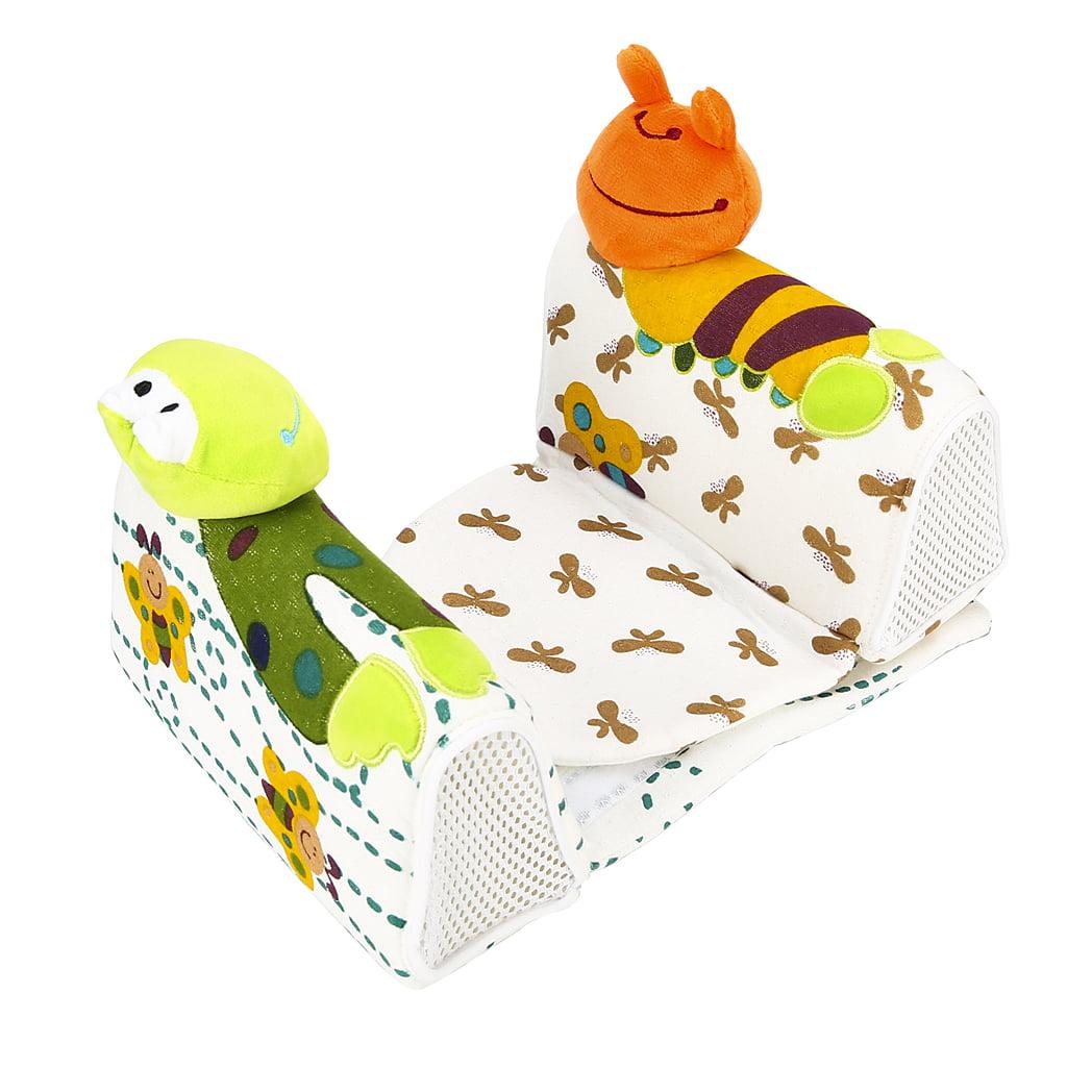 Lovely Newborn Baby Anti Roll Pillow Sleep Positioner Prevent Flat Head Cushion House Bedding Soft Nursing... by XIAXAIXU