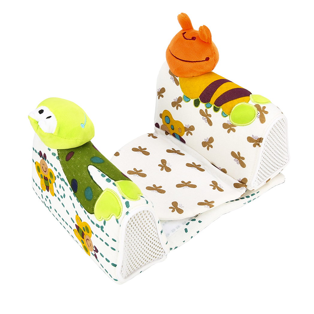 Lovely Newborn Baby Anti Roll Pillow Sleep Positioner Prevent Flat Head Cushion House Bedding Soft Nursing Pillow