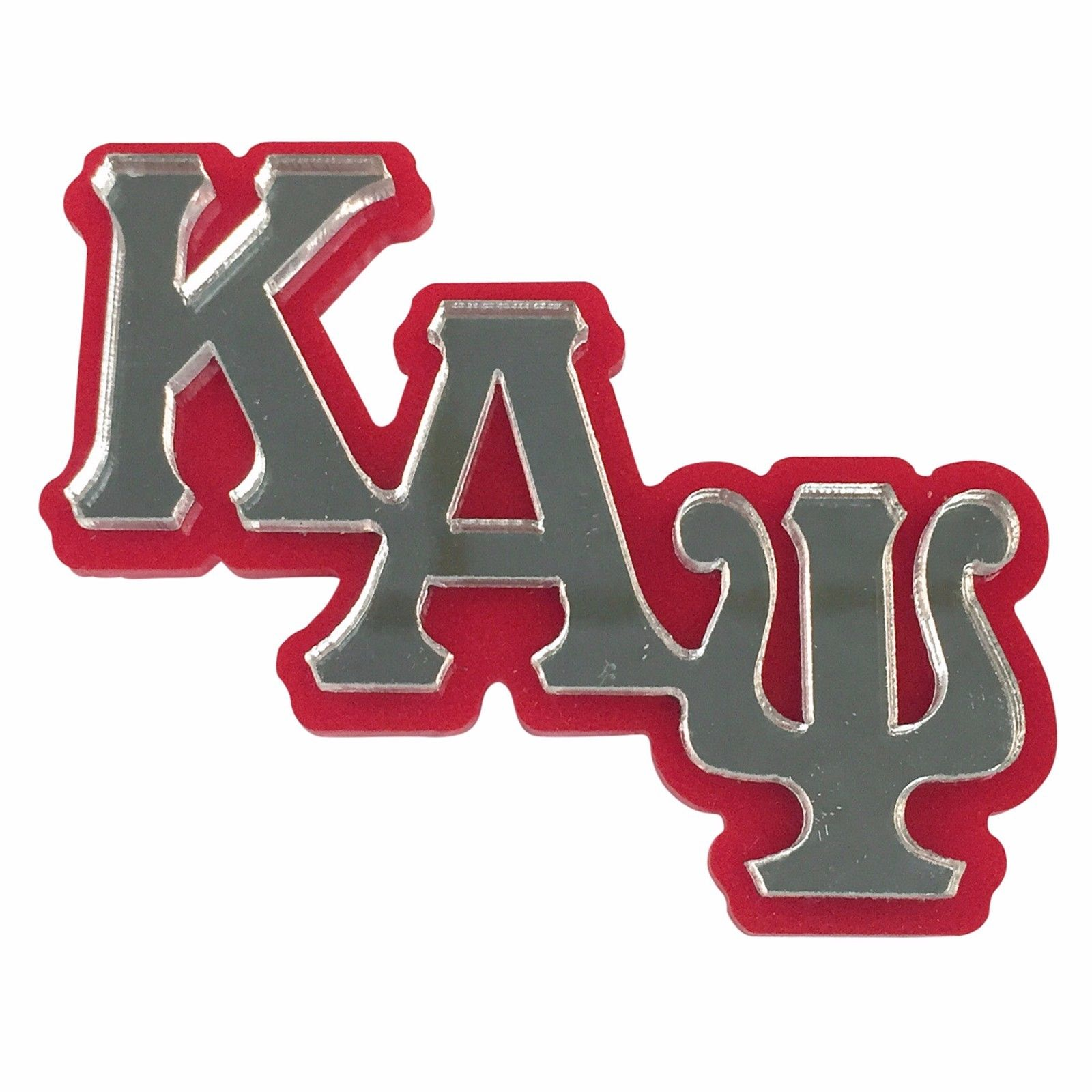 Kappa Alpha Psi (#LGPM) Mirror Letters Giant Pin