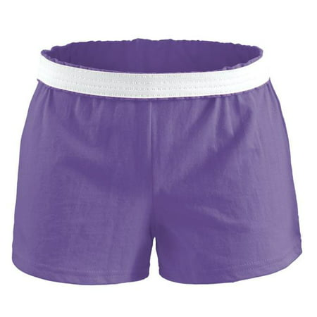 Soffe B037501SML Youth Athletic Shorts, Grape - Small