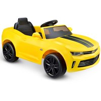 Kid Motorz Racing Camaro RS One Seater in Yellow 6V