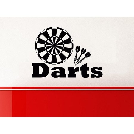 stickalz llc target darts wall decals vinyl stickers teens. Black Bedroom Furniture Sets. Home Design Ideas