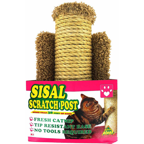 Hula Ho Sisal Scratch Post for Cats