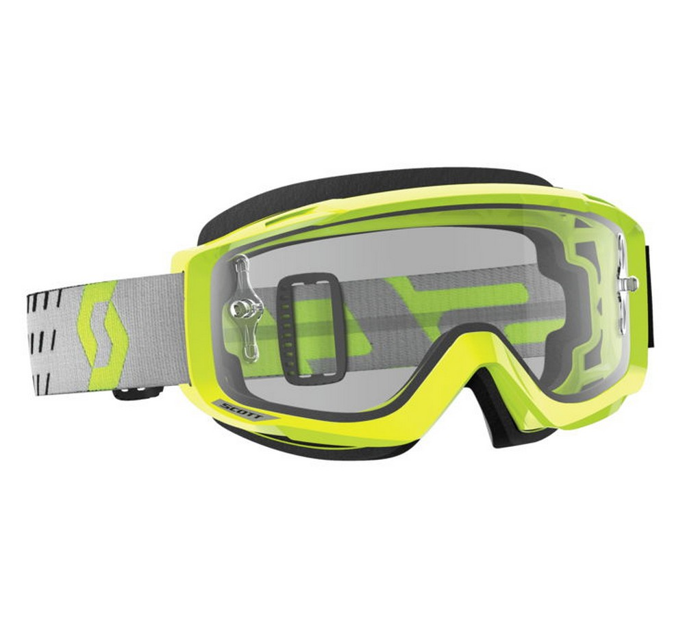 Scott Split OTG MX Offroad Goggles Yellow/Gray