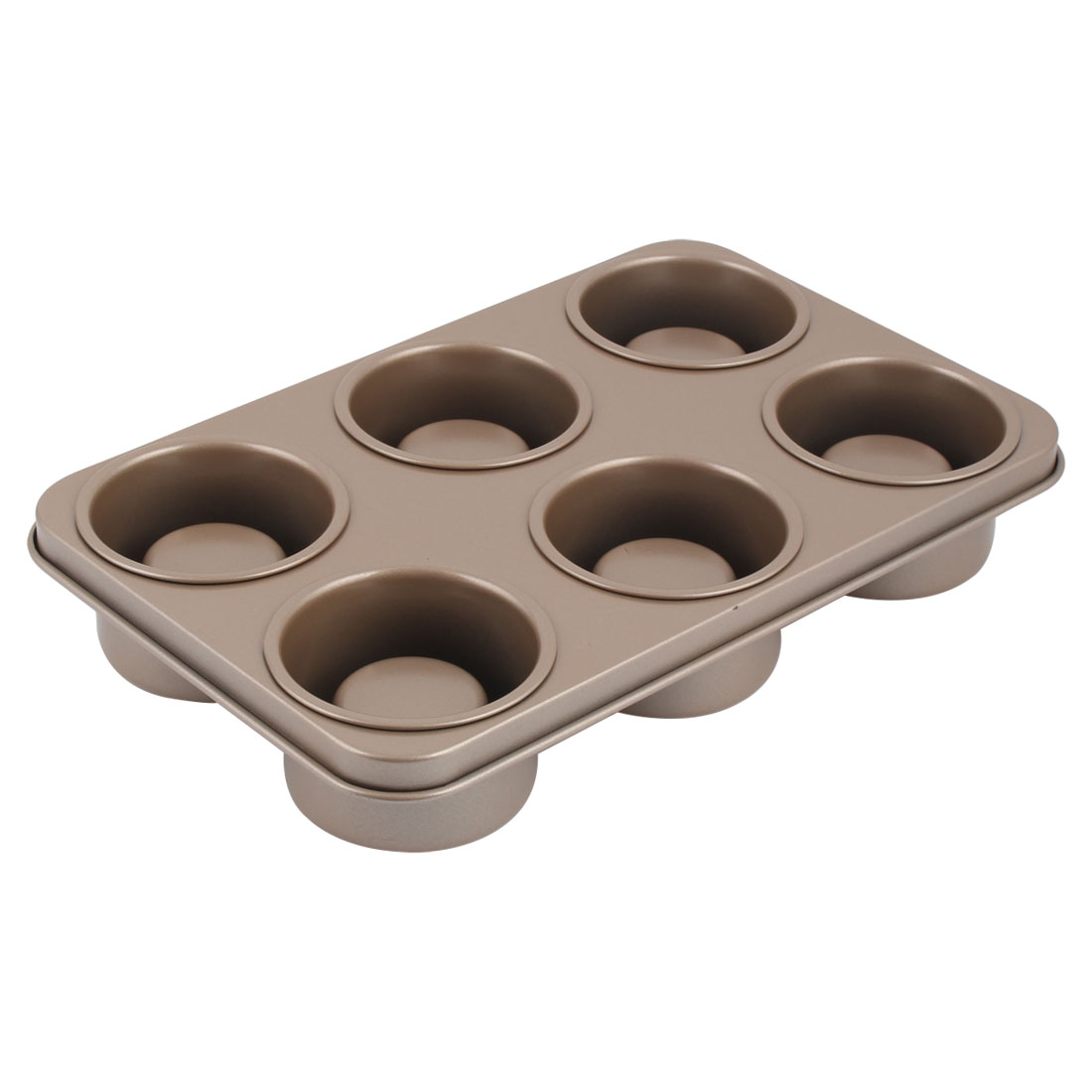 Kitchen Pastry Pie Nonstick 6-Cavity Baking Mold Mould Bakeware Pan Tray