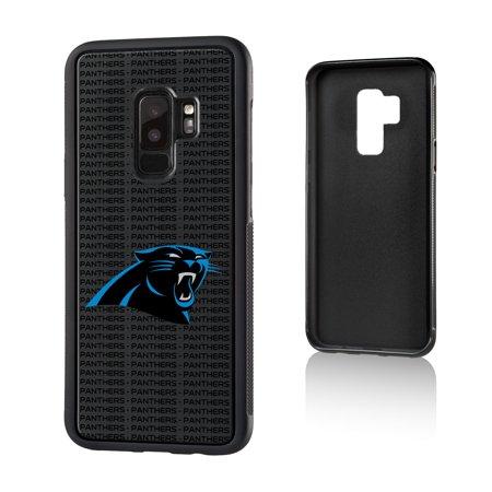 Panthers Cell - Carolina Panthers Galaxy Text Backdrop Design Bump Case