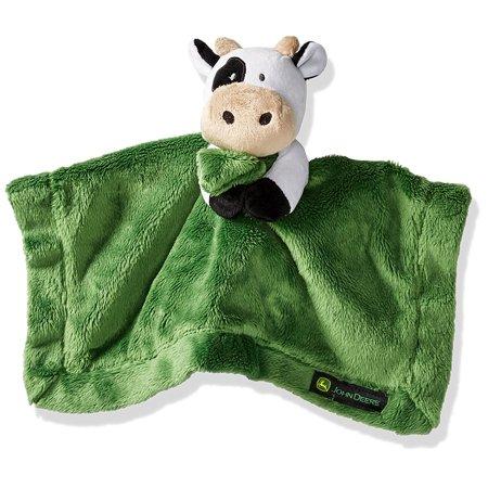 John Deere Baby Boys' Cow Cuddle Blanket, Green, One Size ...
