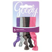 Goody Ouchless Ribbon Elastics, 5 count