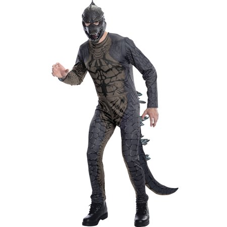 Godzilla King Of The Monsters Mens Adult Godzilla Halloween Costume-PLUS - Godzilla Halloween